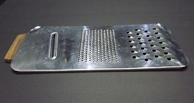 """Vintage   Stainless Steel,   12"""" Grater,    FREE SHIppINg & Tracking"""