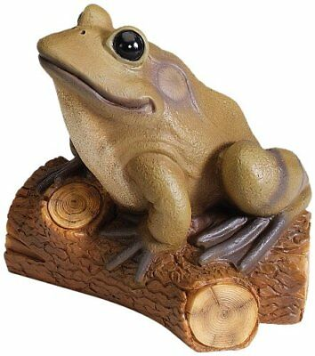 Kay Home Product Frog on a Log Statuary