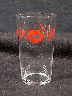 National Distillers Brands:Old Angus Bellows Old Crow PM Old Grand-Dad etc Glass