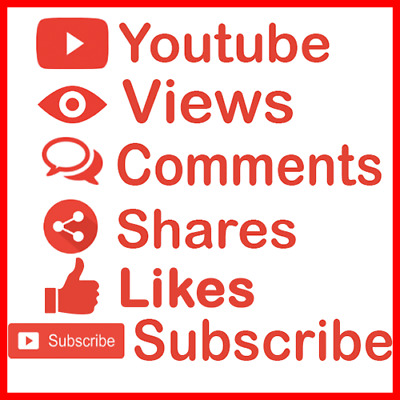 youtube viêws - likês - subscribe - comments - shares & HQ & Real and Safe