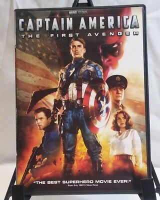 Captain America: The First Avenger DVD Chris Evans 2011