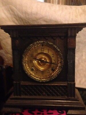 Antique Ansonia American Striking Mantle Clock 1882