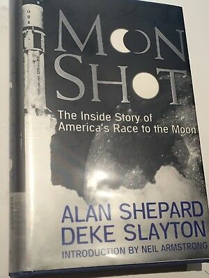 Moon Shot,  Signed by Alan Shepard