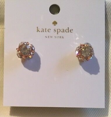 49942e319 KATE SPADE LADY Marmalade Stud Earrings-NWT-Rose Gold - $16.50 ...