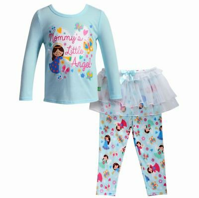 Girl 4-14 and Doll Matching Mommy s Angel Tutu Pajamas Outfit fit American  Girl 128ac0c84