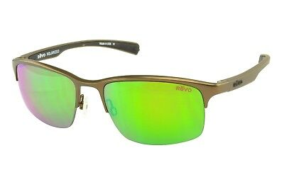 9726447a0d New Revo Polarized Sunglasses Fuselight RE1016 02 Brown 58-19-130 Made in  Italy