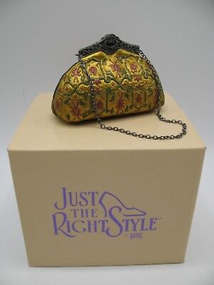 """Just The Right Shoe Raine Willittis Designs """"Tapestry"""" Miniature Purse Bag 26403"""