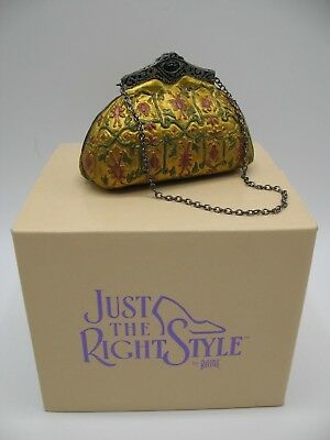 "Just The Right Shoe Raine Willittis Designs ""Tapetry"" Miniature Purse 26403"