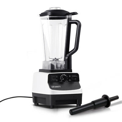 5-Star Chef Commercial Blender Food Processor Mixer Juicer Smoothies Ice Crush