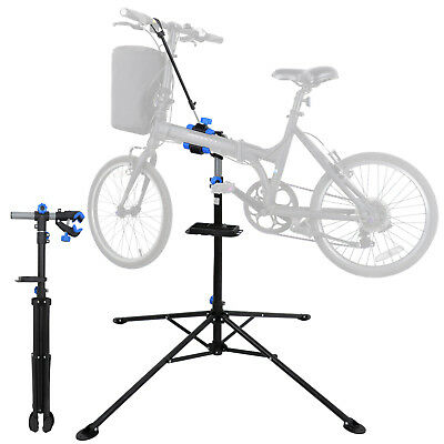 Portable Home Steel Bike Repair Stand Adjustable Height Bicycle Stand 66lbs