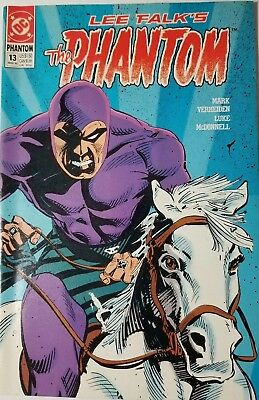 Lee Falk's The Phantom #13 (DC Comics, Mar 1990) FN+