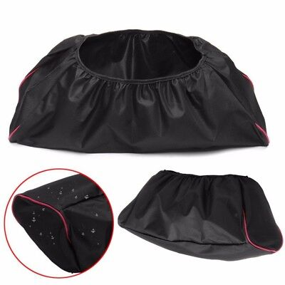 Black 600D Waterproof Soft Winch Dust Cover 8,000-17,500 lbs Trailer ATV SUV WT