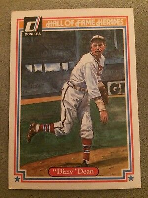 1983 Donruss Hall Of Fame Heroes Dizzy Dean Baseball Card #29 St Louis Cardinals