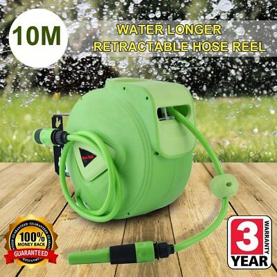 AUTOMATIC HOSE REEL 10M Lockable Bracket, 180 Degree Rotation Retractable *QAZ