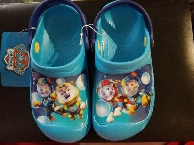 NEW Toddler Boys/Girls Paw Patrol Water Shoes Size 11 - 12 Sandals Clogs