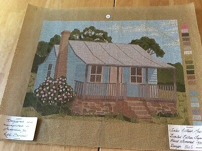 TAPESTRY CANVAS - TIMBER COTTAGE, MOSS VALE - LIMITED EDITION - canvas only