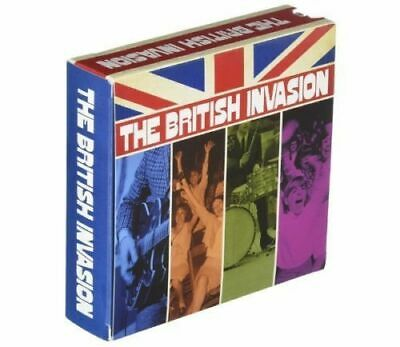 "Various Artists ""The British Invasion"" 8CD+1DVD Time Life Box Set Music"