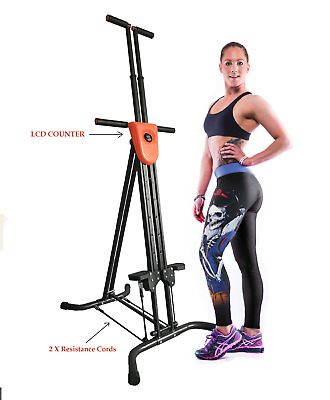X Factor Vertical Climber AB EXERCISE + EXTRA Resistance STRAPS Cardio Fitness