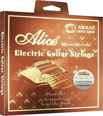 Alice AWR58 SL/L Electric Guitar Strings Set/6pcs Plated Steel Nickel Alloy