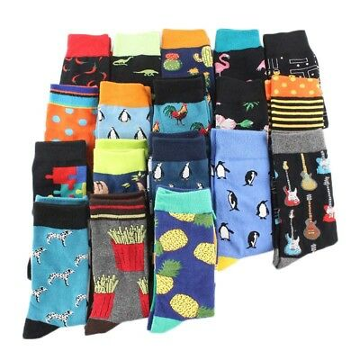 Cool Food Animal Hip Hop Crew Socks Funny Street Crew Socks Men Harajuku Divert