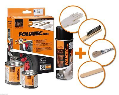 FOLIATEC RED Brake Caliper Paint Kit Brakes Manifold heat resistant temperature