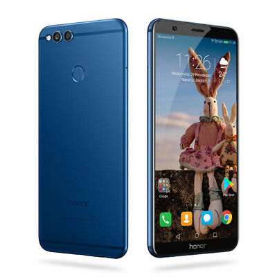 """4G Huawei Honor 7X 5.93"""" Smartphone Android 7.0 Octa Core 4GB+64GB 2xSIM 16.0MP"""