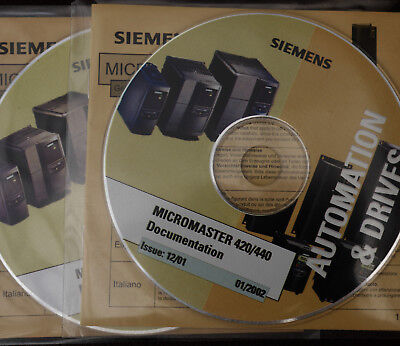SIEMENS  MICROMASTER 420/440  documentation  software