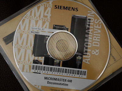 SIEMENS  MICROMASTER 440  documentation  software