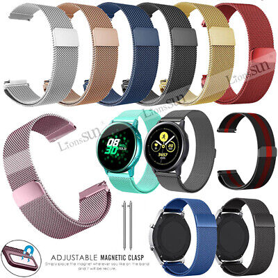 Mesh Milanese Magnetic Loop Watch Band Strap For Samsung Galaxy Watch 42mm/46mm