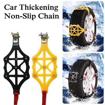 Car Snow Chains Anti-skid Chain Buckles TPR thickening Snow Tire Adjustable