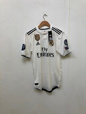 adidas Mens Real Madrid 18/19 CL ClimaChill Home Shirt- S - Various Players -New