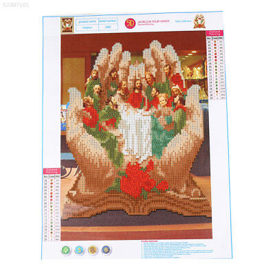 98A1 DIY The Last Supper Diamond Painting Embroidery Craft for Living Room Home