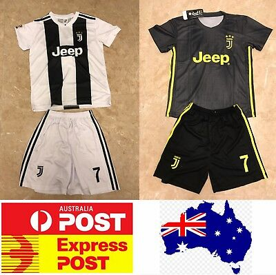 Cristiano Ronaldo Juventus Jerseys, home white sets or away black sets