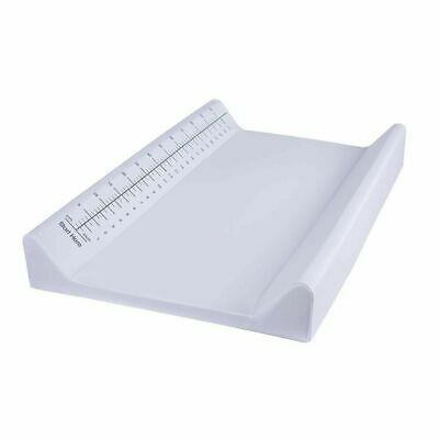 White Universal Change Pad for Change Table Changing Baby Nursery w/ Measuring