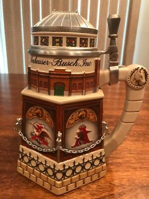 Anheuser Busch Stein- Cb11 Clydesdale Stable