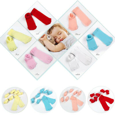 Thin 5Pairs Kids Silk stockings Candy Color Girls Baby Autumn Socks Comfortable