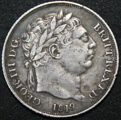 1819 | George III Sixpence | Silver | Coins | KM Coins