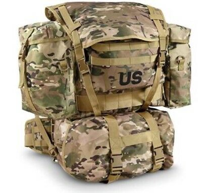 US Military Multicam Rucksack w/ Frame