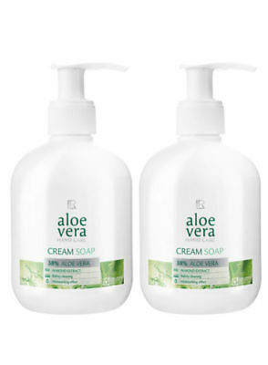 LR  Aloe Vera Reinigende Handseife Cream Soap 2 x 250 ml