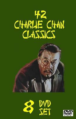 42 Charlie Chan Classics DVD Set - 42 Complete Full Length Movies