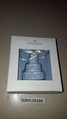 Wedgwood 2014 Our First Christmas Together Wedding Cake Christmas Ornament