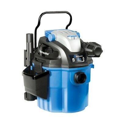 Vacmaster 5 Gallon, 5 Peak HP, with 2-Stage Motor, Wet/Dry Vacuum, Wall