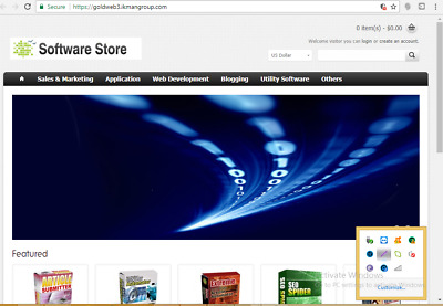 Ready Made Software Store Website - Free hosting - Free Installation