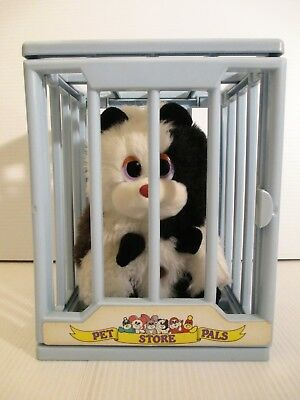 Vintage Tonka Pet Store Pals Plush Guinea Pigs And Cage