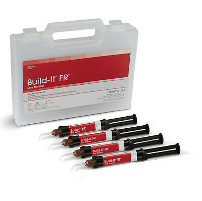 COMPOSITO DENTALE DUALE BUILD-IT KIT 4x8,6g A2 o A3, CEMENTO PER PERNI E MONCONI