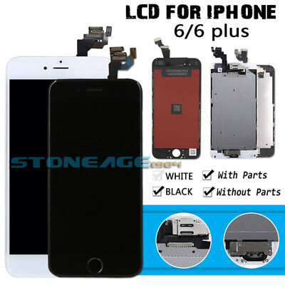 OEM For iPhone 6 Plus LCD Touch Screen Digitizer Replacement+Home Button Camera