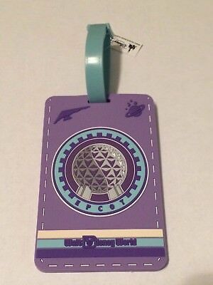 Disney Parks Exclusive Epcot Spaceship Earth 2018 Parks Luggage Tags Hangtag NEW