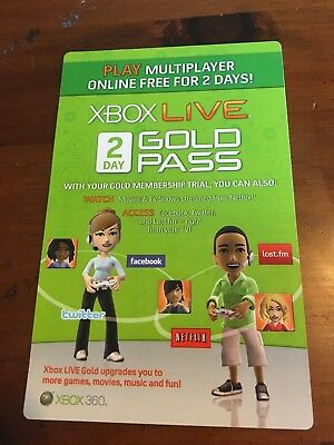 48 Hours - Xbox Live Gold Trial Membership Code Pass (2 Days)