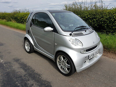 2006 Smart Fortwo Brabus 0.7 Coupe Silver NEW MOT (Motorhome tow car, city car)