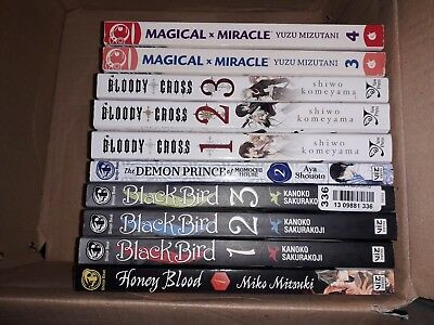 Manga lot in English (used in good conditions)